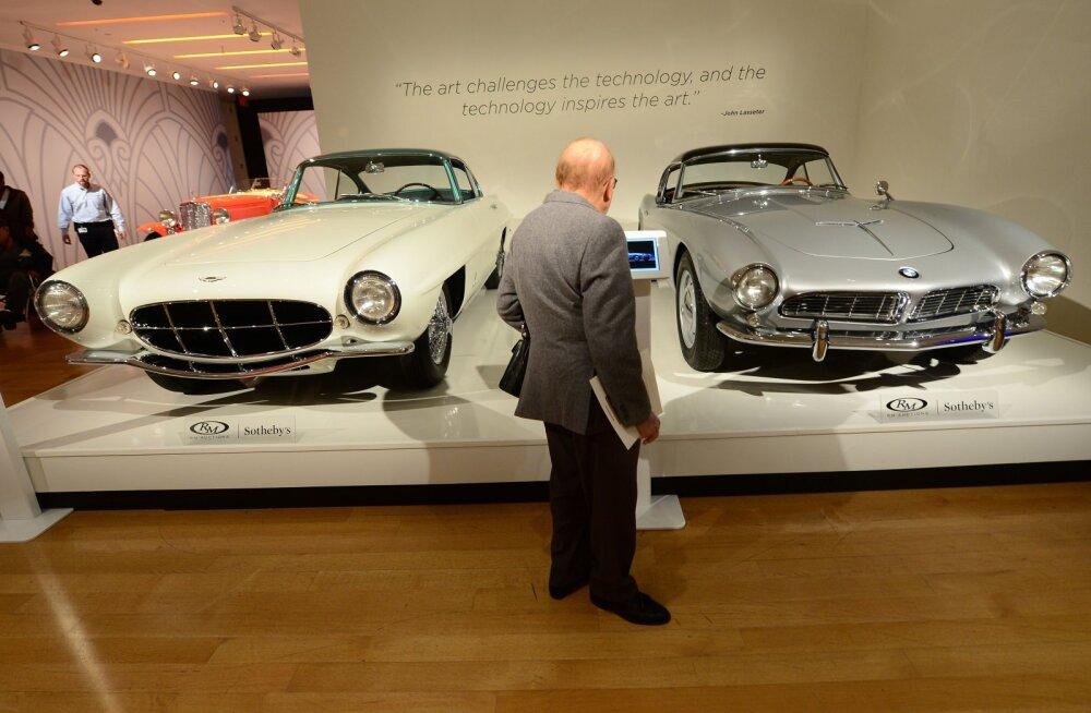 Autoiludus BMW 507 maksab 2 miljonit eurot