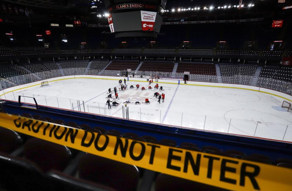 43 NHL-i mängijat nakatusid koroonasse