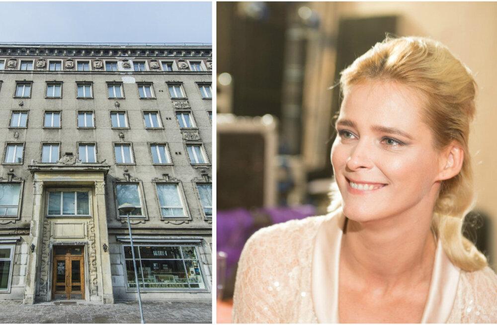 Kunstnike Liidu segased kinnisvaratehingud jätkuvad: EKLi majja soetas korteri ka Carmen Kass