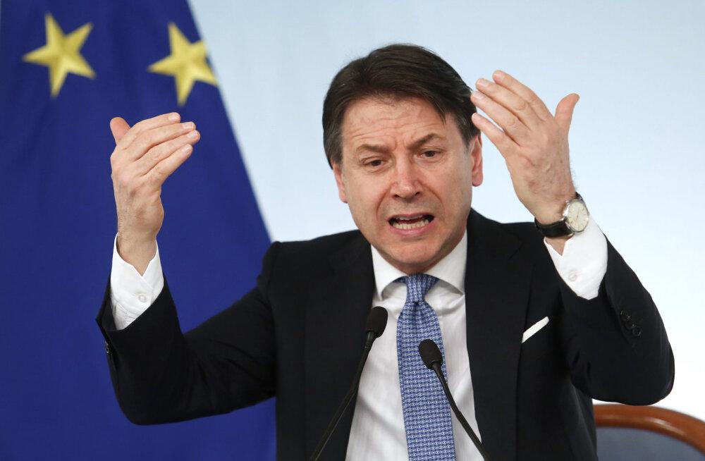 Itaalia lubas suurendada kulutusi koroonaviiruse majandusliku mõju leevendamiseks