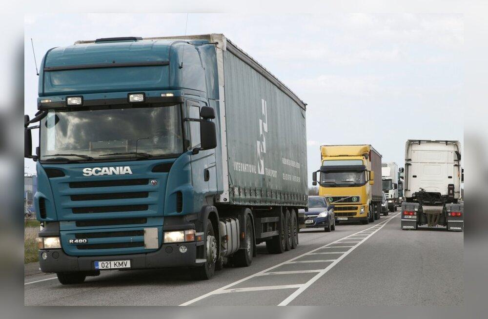 Suvi tõi veoautodele Euroopas rohkelt sõidukeelde