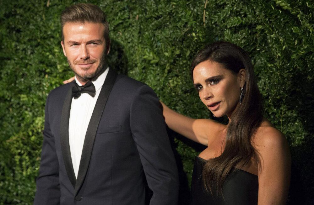 JUSTKUI EILE   David ja Victoria Beckham jagavad pulma-aastapäeva puhul imearmsat pulmapilti