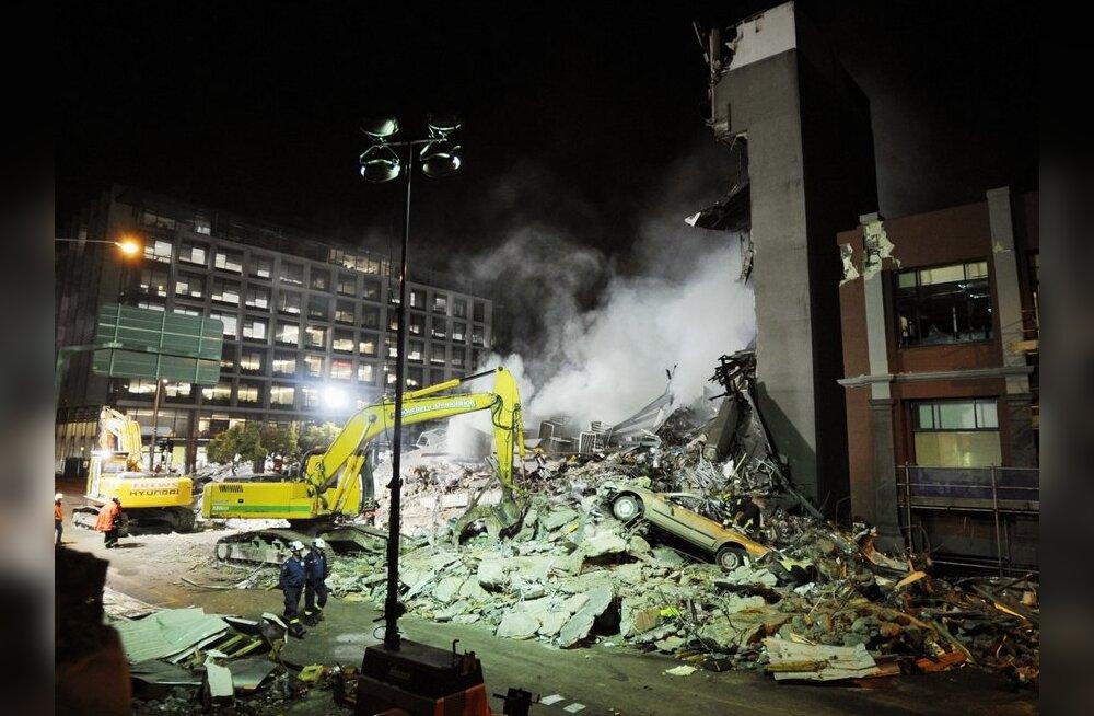 Uus-Meremaa maavärina kinnitatud ohvrite arv tõusis 71-ni