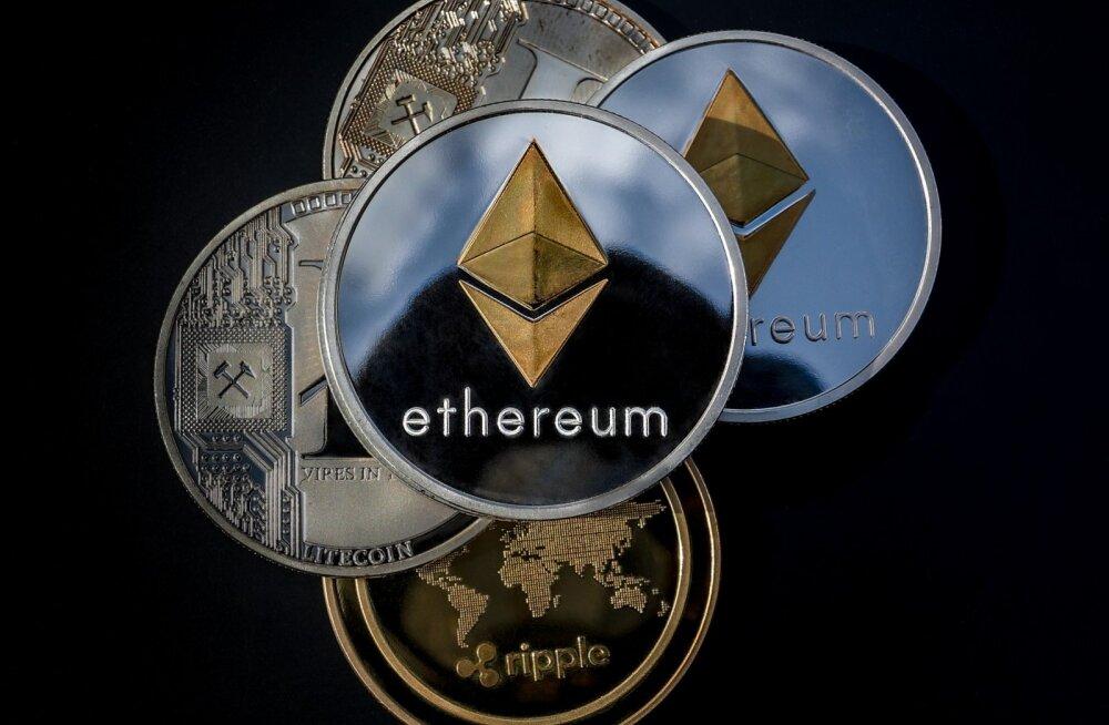 Ethereum tõusis bitcoini järel kõige populaarsemaks