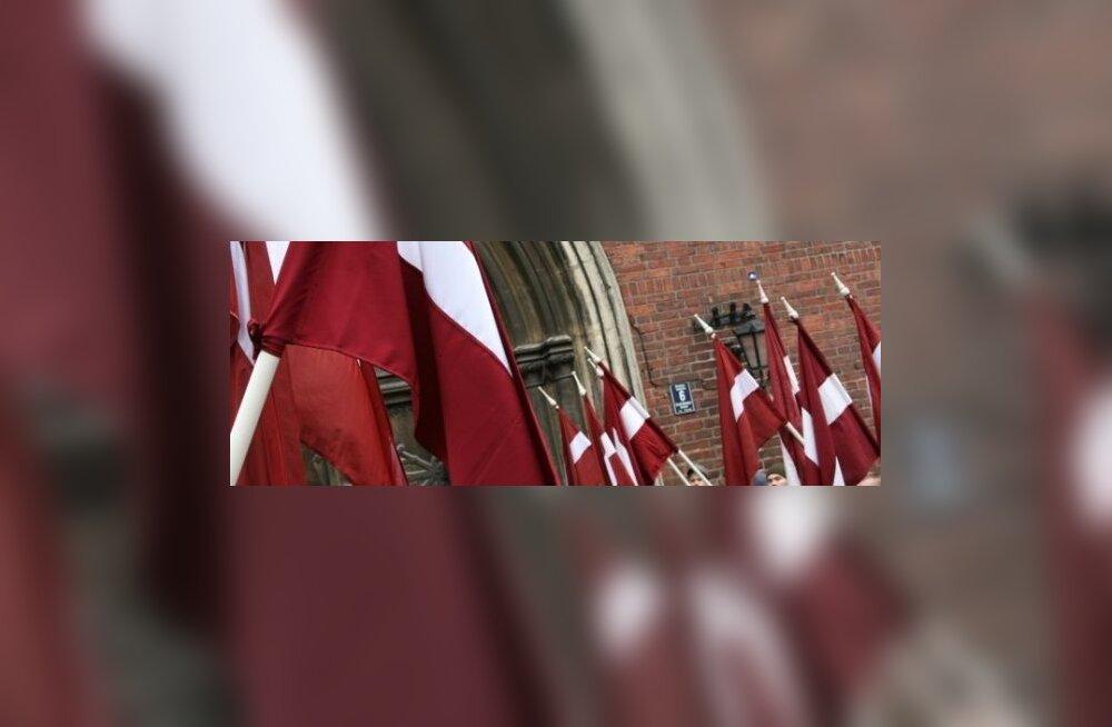 ФОТО: По Риге шествуют легионеры
