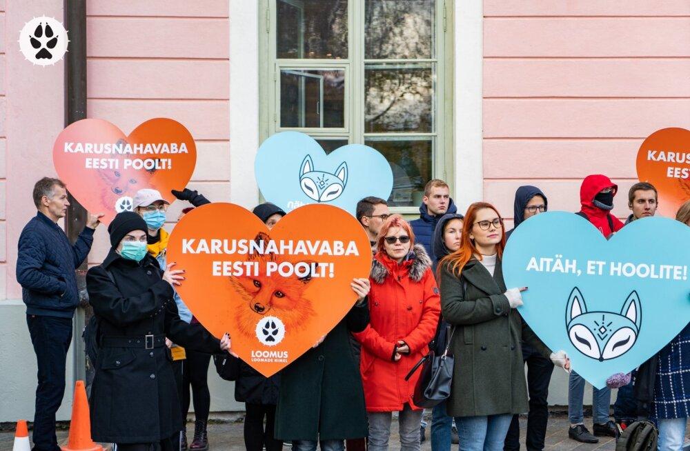 Eesti astus ajaloolise sammu karusloomafarmide keelustamise suunas
