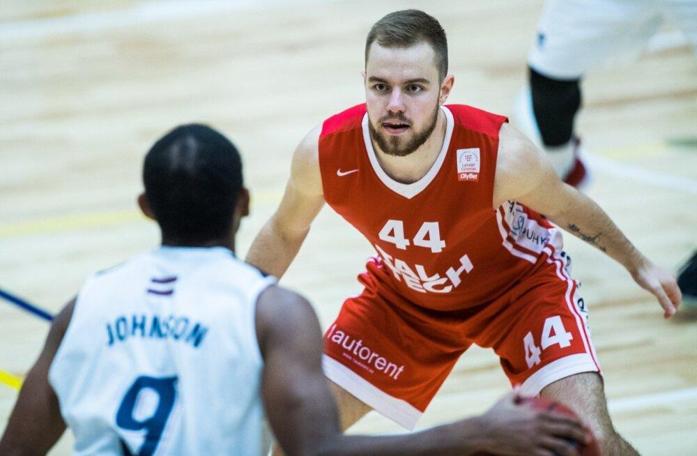TTÜ ja Liepaja mängivad korvpalli
