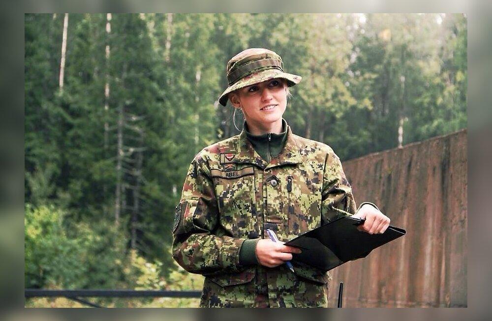 В Вируском пехотном батальоне впервые будут нести службу девушки