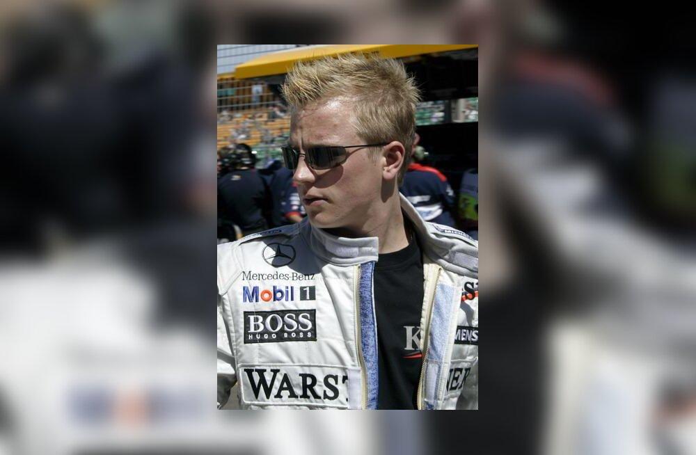 Kimi Räikkönen Austraalia GP-l