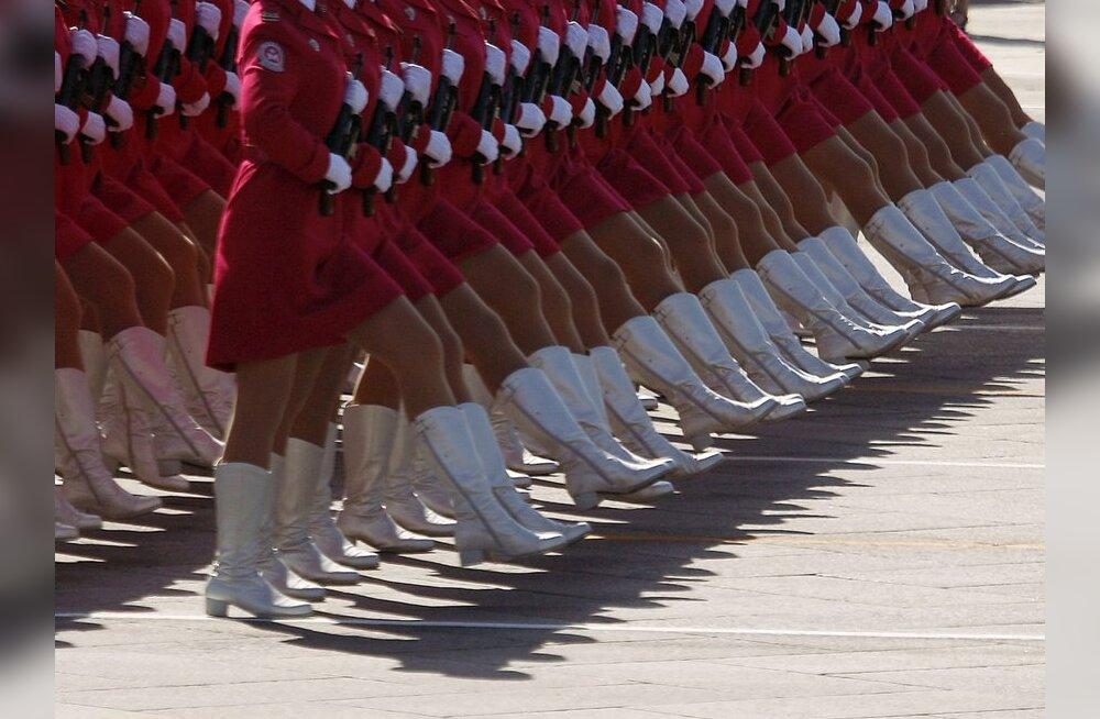 Saagu võrdsus! Naised sõjaväkke!