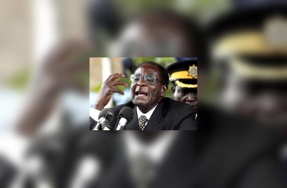 Rober Mugabe, Zimbabwe president