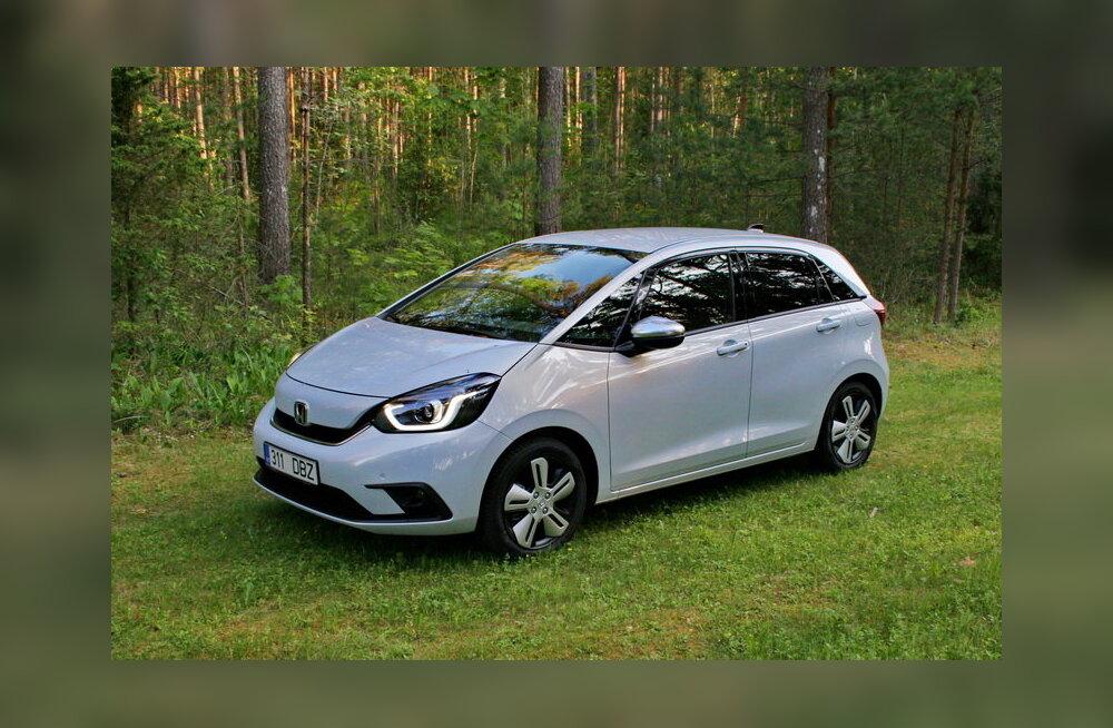 Proovisõit | Honda Jazz: heas mõttes kahepalgeline pereauto