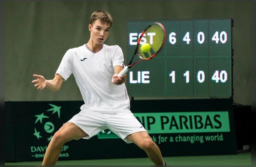 Homme algavad Eesti karikavõistlused tennises