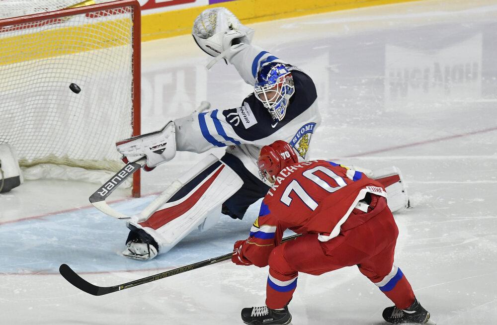 Venemaa - Soome jäähoki