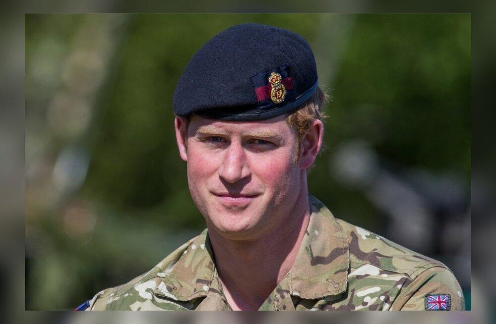 Prints Harry vastuvõtt Kevadtormil