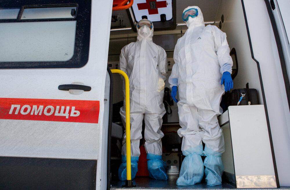 Peterburis on koroonaviiruse karantiinist põgenenud kokku neli inimest
