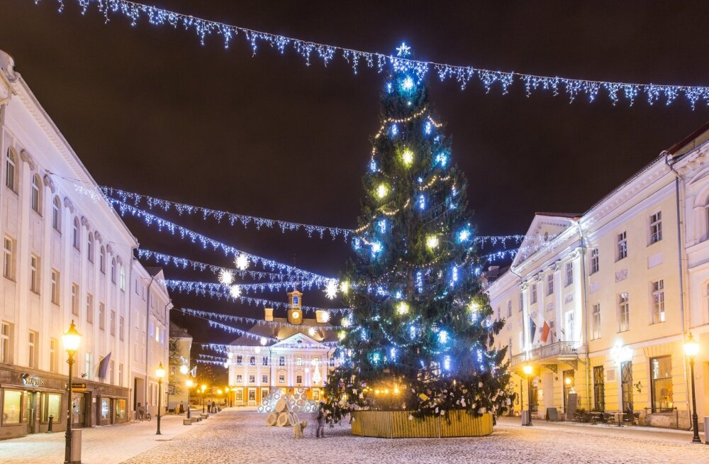 Kas sel aastal õnnestub lumiseid jõule pidada? On lootust, et jõululaupäeva hommikul küll.