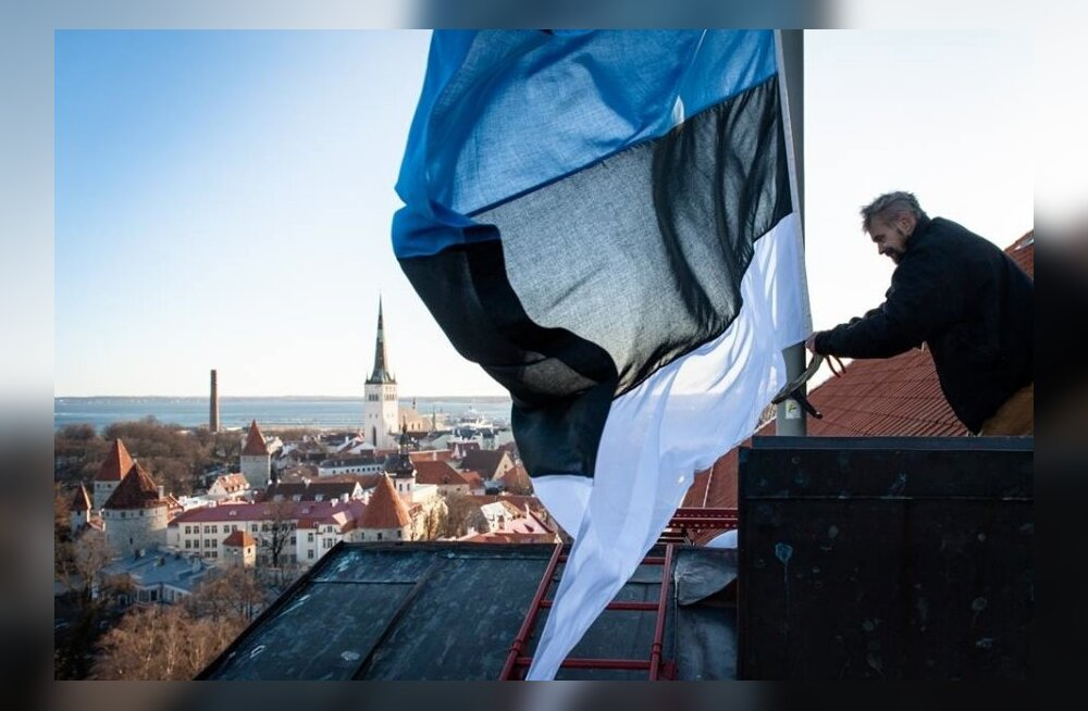 Ansip sai kingiks Stenbocki maja katusel lehvinud lipu
