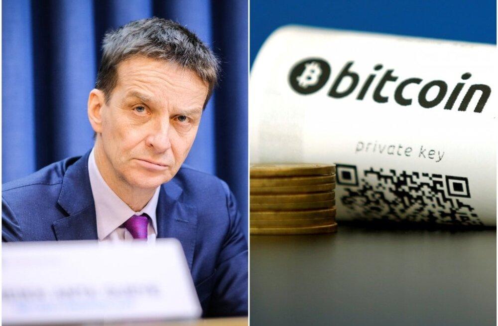 Президент Банка Эстонии: криптовалюта совершенно бессмысленна и скоро изчезнет
