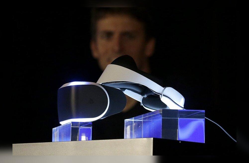 Virtuaalreaalsus massidesse: VR-peakomplekt Sony mänguseadme PlayStation 4 kaaslaseks