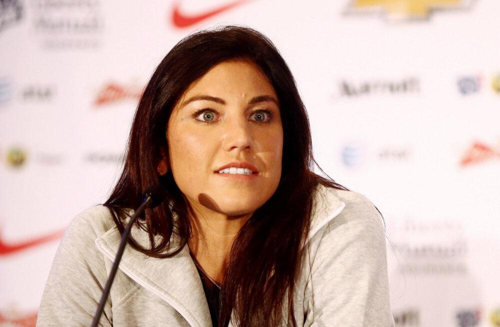 USA naisjalgpallur: kui peaksin täna otsustama, siis ma Rio olümpiale ei läheks