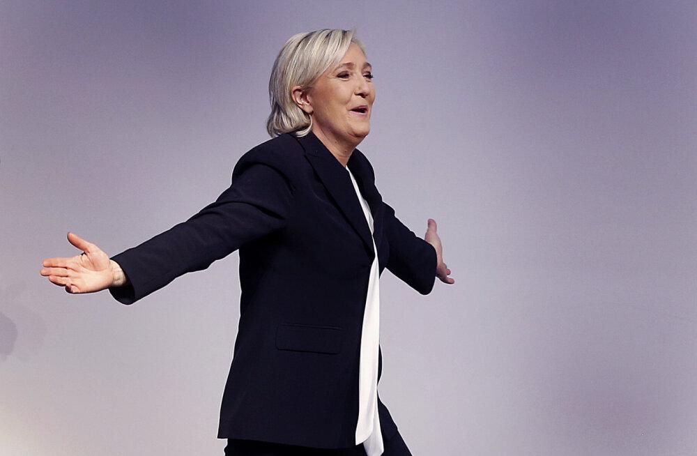 Le Pen loodab, et sel aastal ärkab USA eeskujul ka Euroopa