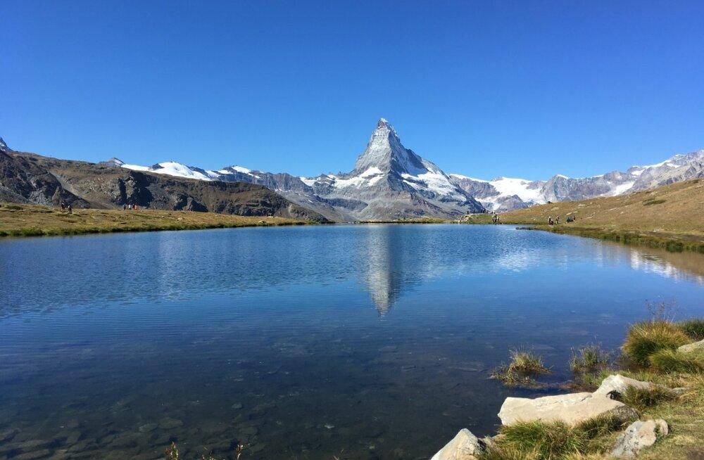 """Matterhorn ehk """"Toblerone mägi"""" on Šveitsi kuulsaim mägi."""