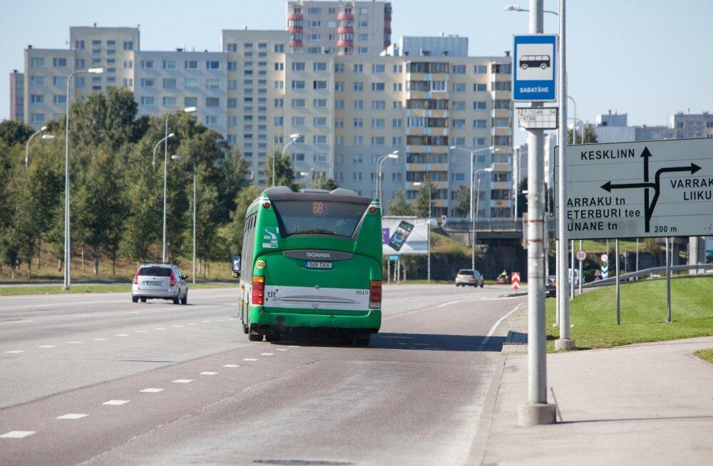 Busside reavahetused Laagna teel