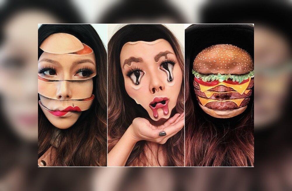 ФОТО: Визажистка из Канады создает реалистичный и пугающий макияж