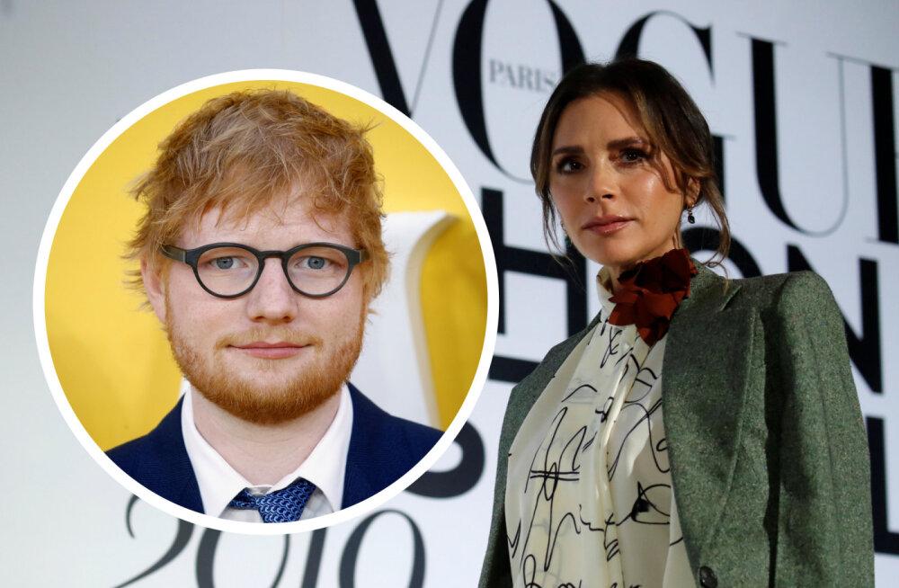 Ed Sheeran näitab Victoria Beckhamile, kuidas äri juhtida: laulja keeldub maksumaksjate rahast