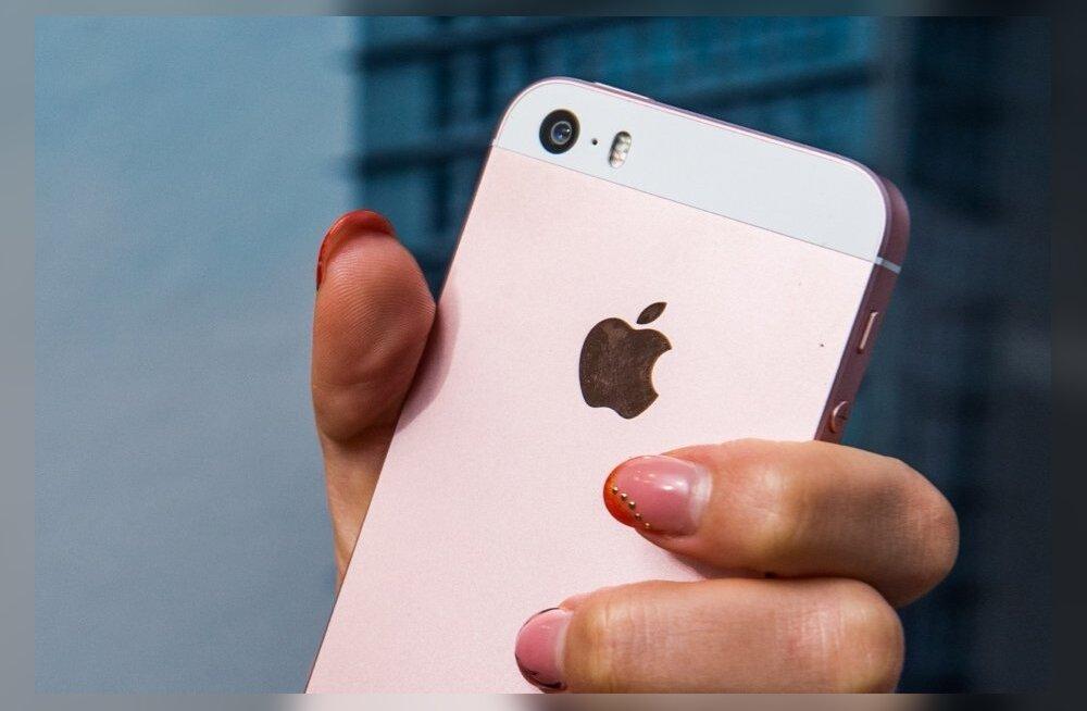 Naljakas lugu: tital õnnestus emme iPhone 47 aastaks lukku panna