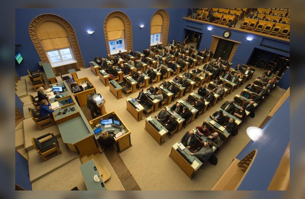 Riigikogulased riigikogus