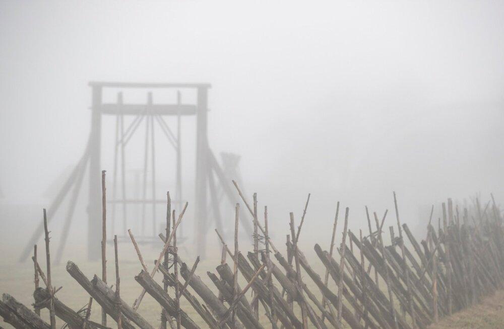 Öise udu hajumine võib keskpäevani aega võtta.