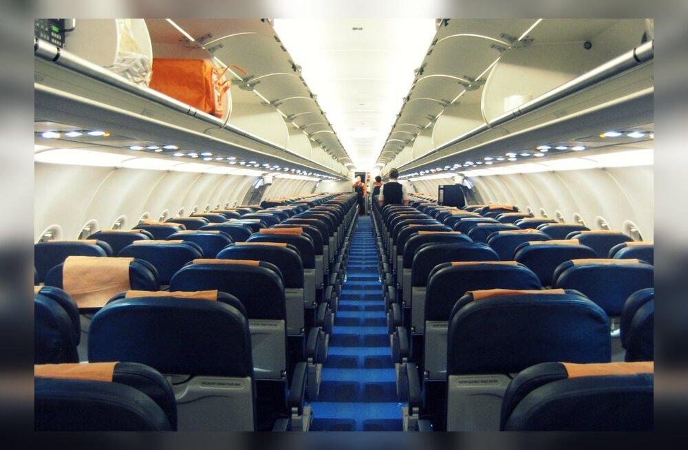 Kas lennukiistmed muutuvadki aina väiksemaks?