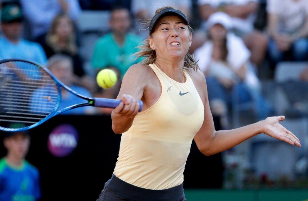Maria Šarapova Rooma turniiril.