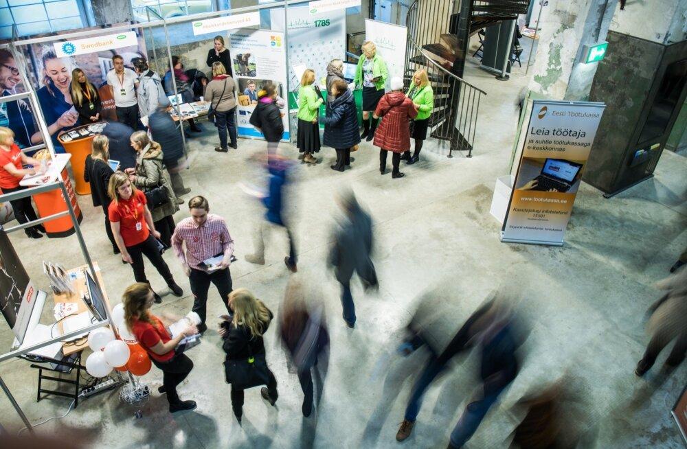 Viiendal Pärnumaa töö- ja karjäärimessil osaleb 54 ettevõtet, pakkumisel on ligi 500 töökohta