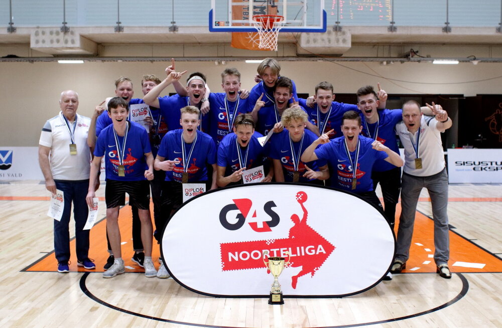 Poiste U18 Eesti korvpallimeistriks krooniti TTÜ meeskond