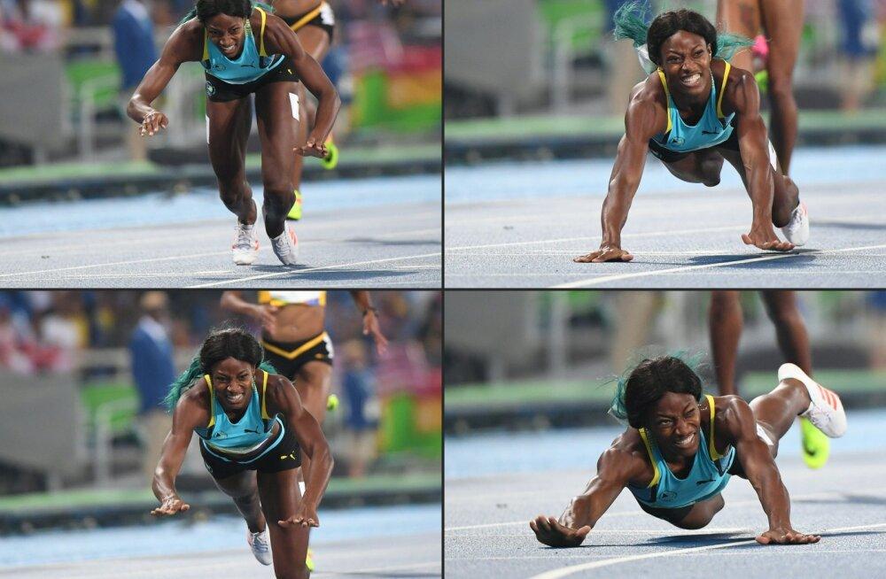 """Milline võit! Maicel Uibo pruut tuli dramaatilise """"sukeldumistehnika"""" abil olümpiavõitjaks"""
