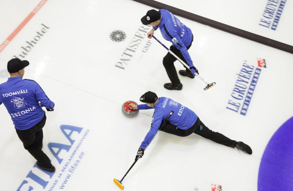 Eesti curlingumeeskond alustas kodust EM-i võiduga