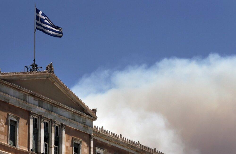 Kreeka metsapõlengud 2015