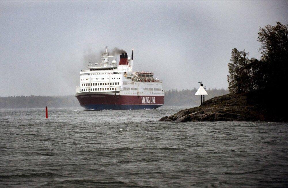 Viking Line'i lukustamata vöörivisiiri juhtumit hakkab menetlema Ahvenamaa prokuratuur