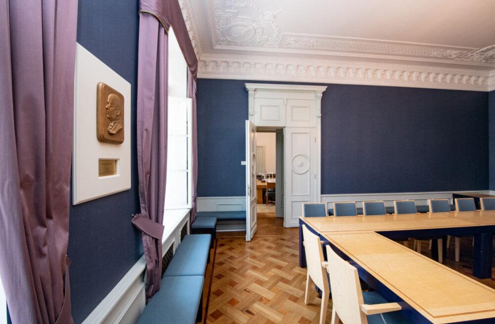 Залы совещаний Рийгикогу будут названы в честь исторических государственных деятелей