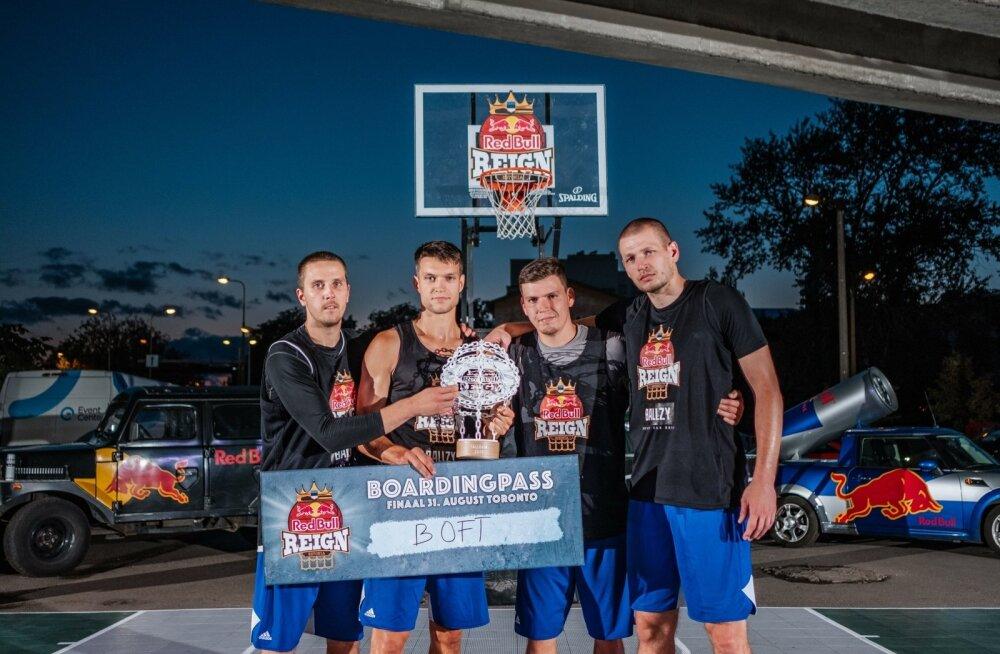 Veideman, Dorbek, Evart ja Järveläinen võitsid 3x3 Red Bull Reign Eesti finaali.