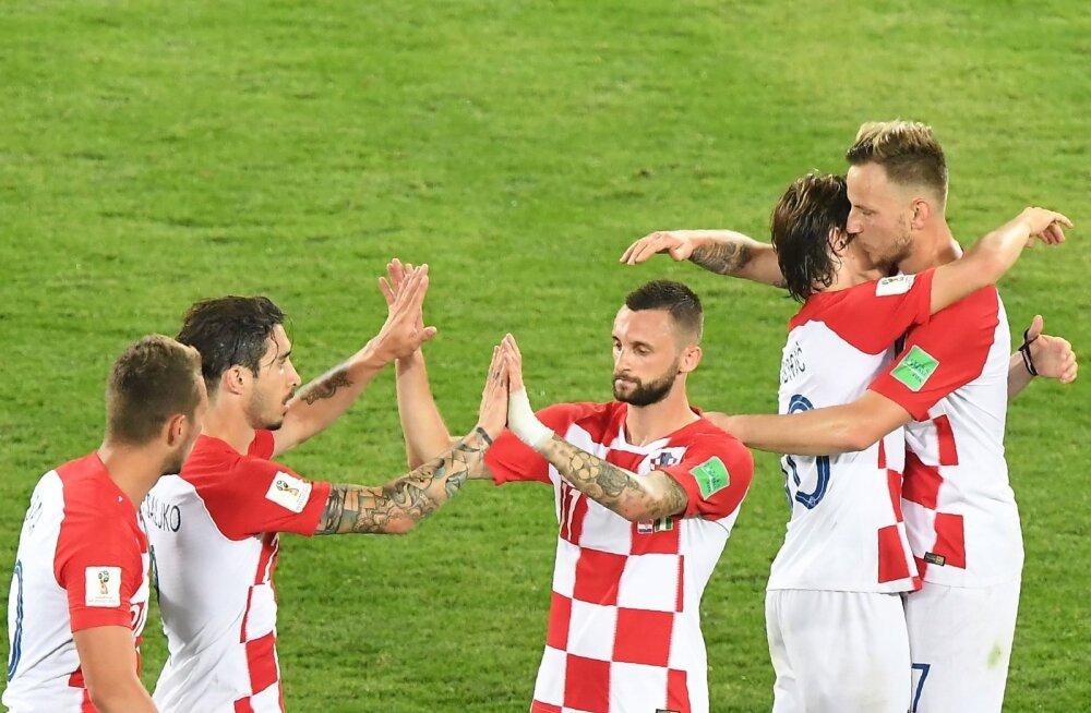 Jalgpall Horvaatia vs Nigeeria