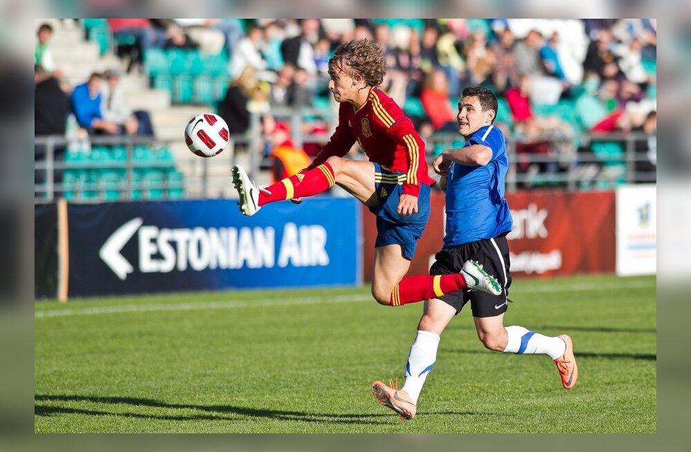 U-23 koondis lõpetab rahvusvahelise jalgpalliturniiri