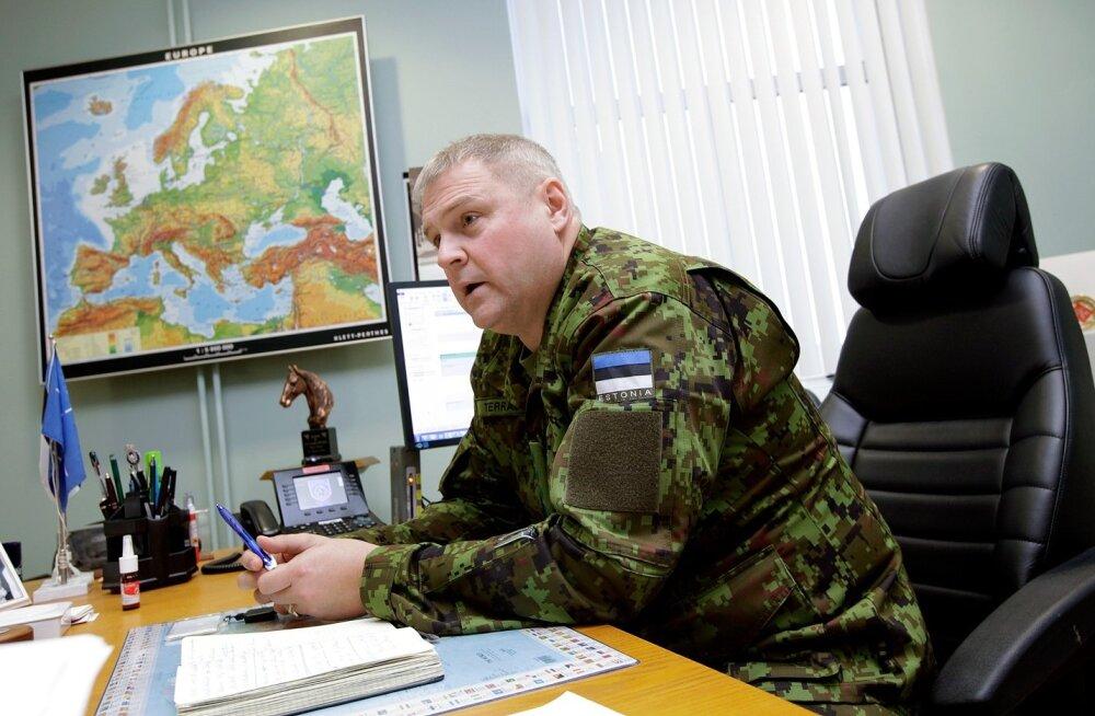 Kindralleitnant Riho Terras ütleb, et kaitsevägi kaitseb kõiki Eestis elavaid inimesi.
