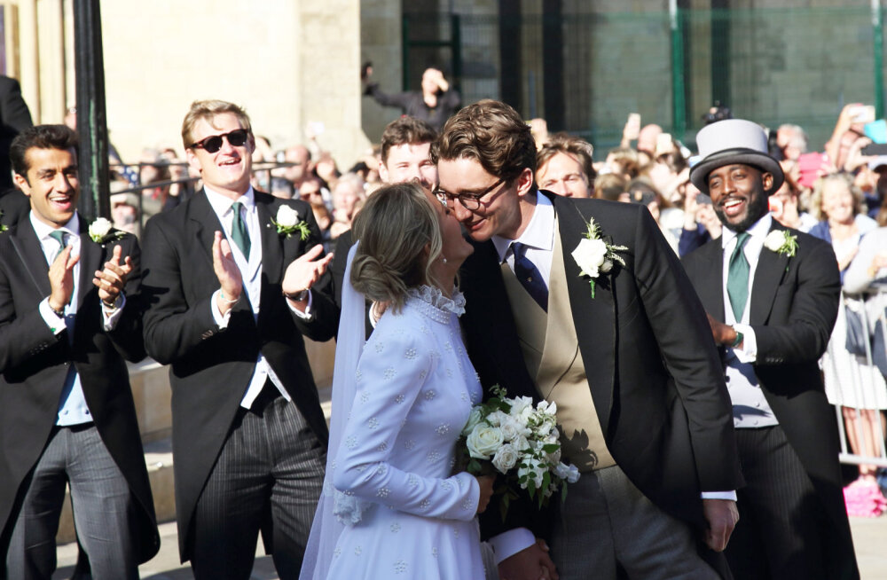 Hõissa! Ellie Gouldingu suursugust pulma külastasid nii kuninglikud kui kõige armastatumad kuulsused
