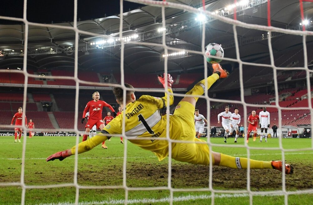 Gregor Kobeli suurepärane penaltitõrje!