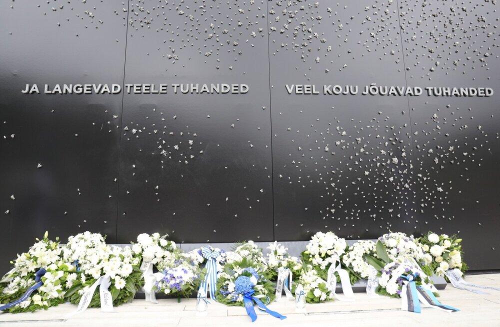 Riigikogu esimees Henn Põlluaas juuniküüditamise aastapäeval: me ei lase ajalool korduda