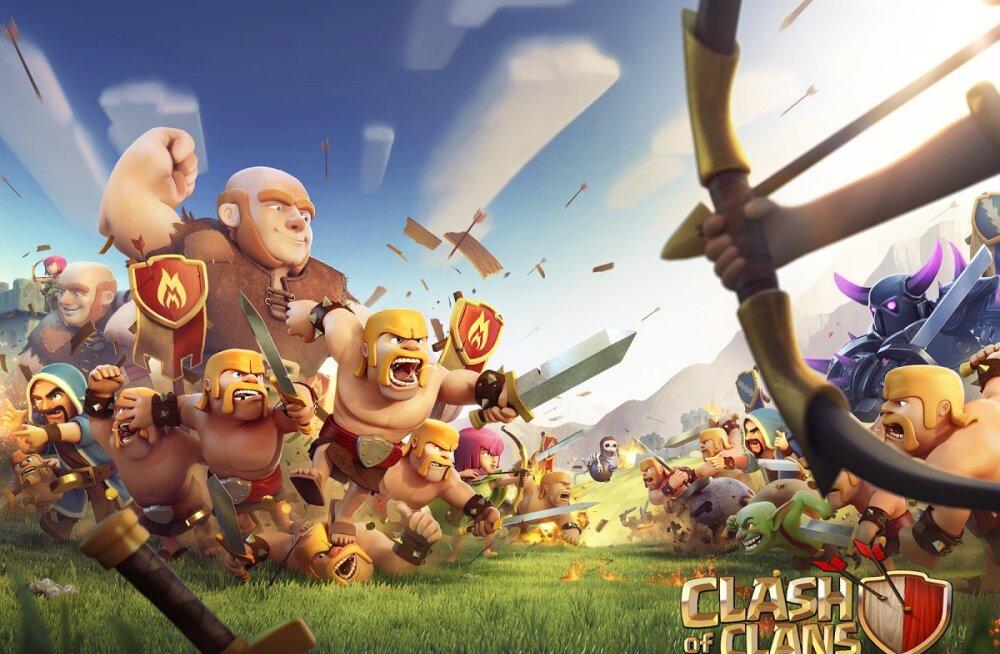 Soome suurima käibega firma: mobiilimängu Clash of Clans arendav Supercell